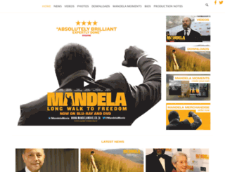 mandelamovie.co.za screenshot