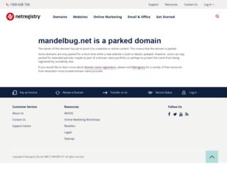 mandelbug.net screenshot