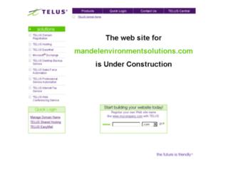mandelenvironmentsolutions.com screenshot