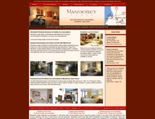 manderley.co.za screenshot
