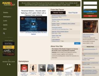 mandohangout.com screenshot