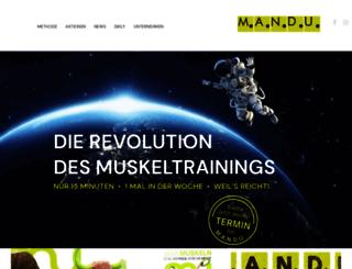 mandu.at screenshot