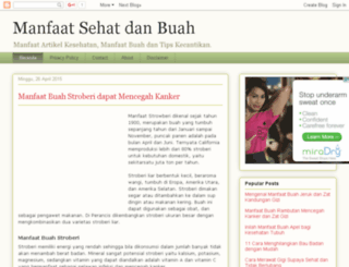 manfaatsehat.web.id screenshot