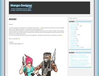 manga-designer.com screenshot