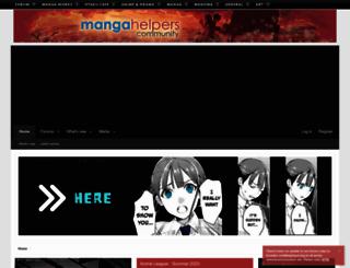 mangahelpers.com screenshot