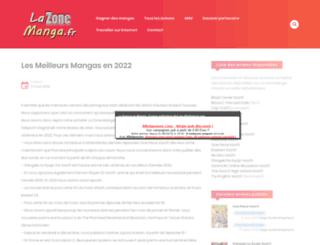 mangastreet.fr screenshot