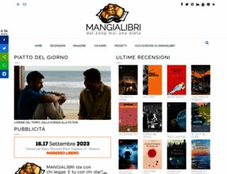 mangialibri.com screenshot