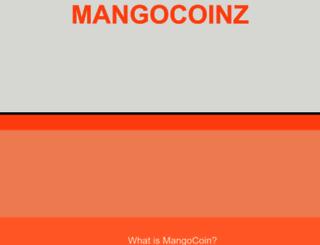 mangocoinz.com screenshot