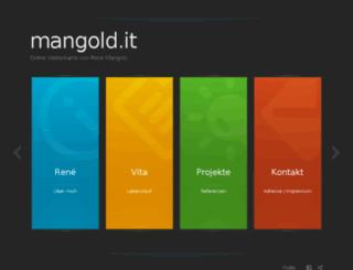 mangold.it screenshot
