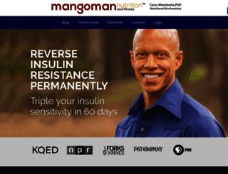 mangomannutrition.com screenshot