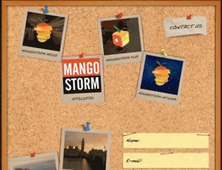 mangostorm.co.uk screenshot