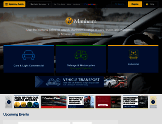 manheim.com.au screenshot