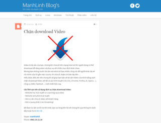 manhlinh.net screenshot