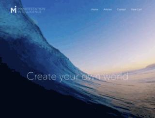 manifestationintelligence.com screenshot