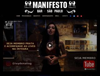 manifestobar.com.br screenshot