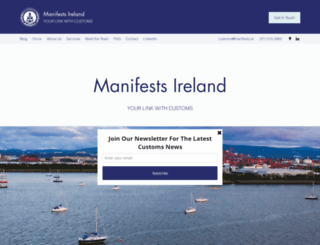 manifests.ie screenshot
