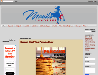 manilashopper.com screenshot