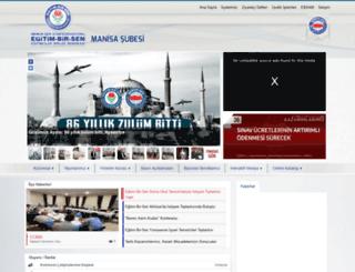 manisa.egitimbirsen.org.tr screenshot