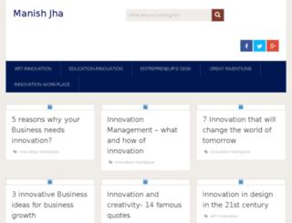 manishjha.net screenshot