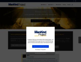 mankindproject.org screenshot