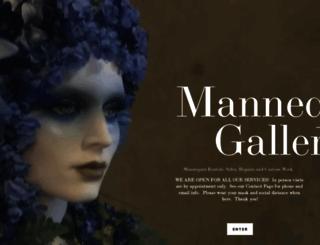 mannequingallery.com screenshot
