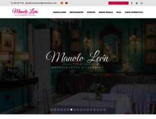 manololeon.com screenshot