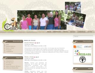 manosdecelilac.artesanias.hn screenshot