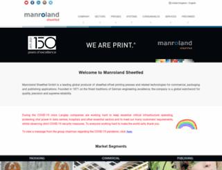 manrolandsheetfed.com screenshot