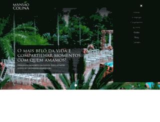 mansaodacolina.com.br screenshot