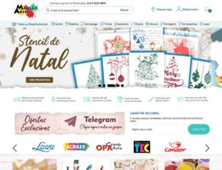 mansaodasartes.com.br screenshot