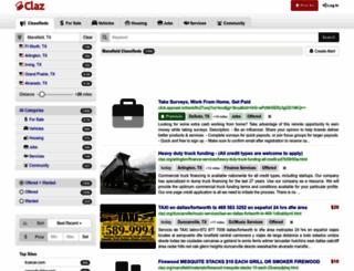 mansfield-tx.claz.org screenshot