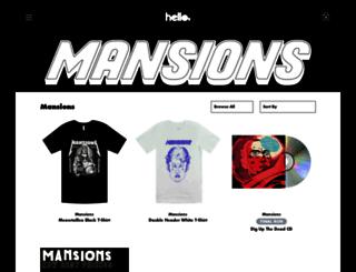 mansions.hellomerch.com screenshot