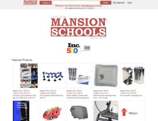 mansionschools.com screenshot