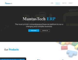 mantastech.com screenshot