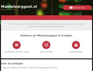mantelzorggooi.nl screenshot