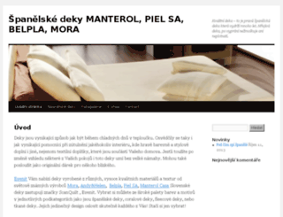manterol.cz screenshot