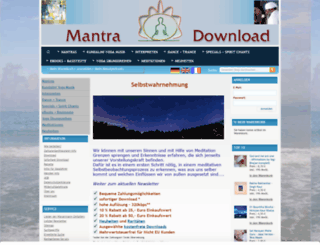 mantradownload.com screenshot
