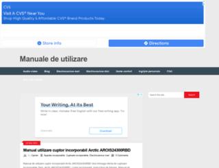 manualedeutilizare.com screenshot