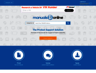 manualsonline.com screenshot