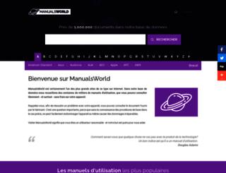 manualsworld.fr screenshot