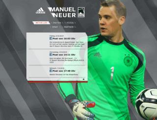 manuel-neuer.com screenshot