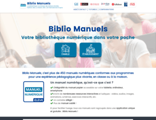 manuel-numerique.com screenshot