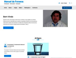 manueldafonseca.com screenshot