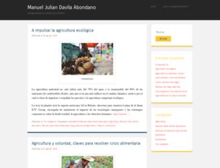 manueljuliandavilaabondanoblog.wordpress.com screenshot