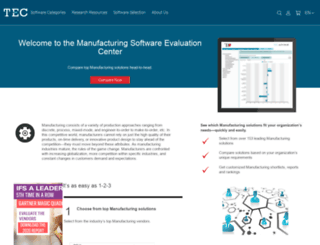 manufacturing.technologyevaluation.com screenshot