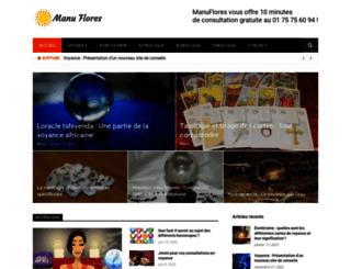 manuflores.com screenshot