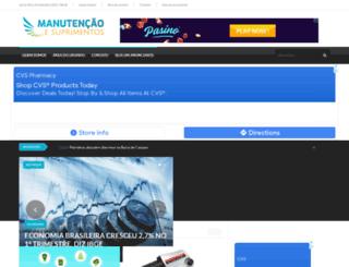 manutencaoesuprimentos.com.br screenshot
