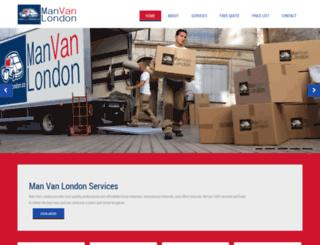 manvanlondon.co screenshot
