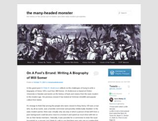 manyheadedmonster.wordpress.com screenshot
