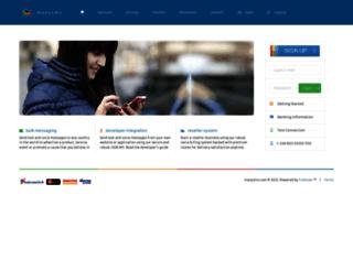 manysms.com screenshot